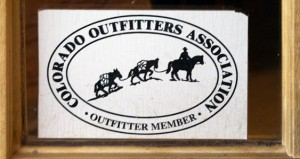 Colorado Outfitters Association member emblem