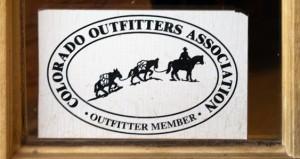 Colorado Outfitters Association member emblem